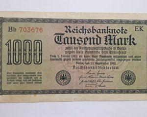 Banknotes Germany
