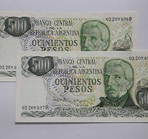 Banknotes Argentina