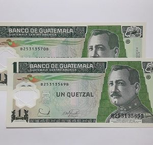 Banknotes Guatemala