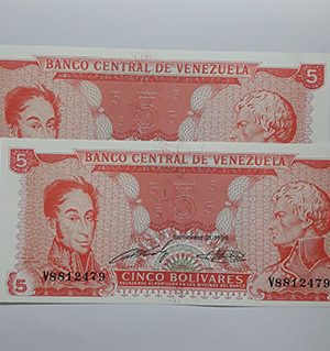Banknotes Venezuela