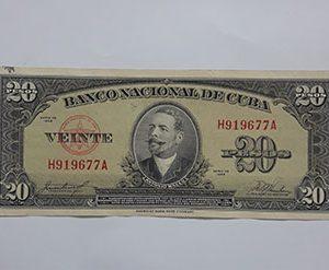 Banknotes Cuba