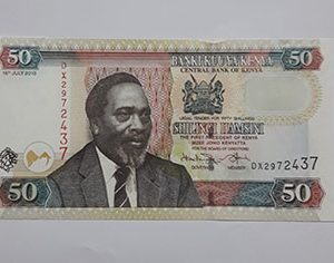 Banknotes Kenye