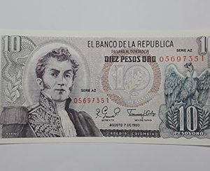 Banknotes Colombia