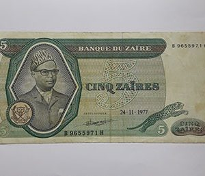 Banknotes Zaires