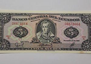 Banknotes Ecuador