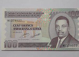 Banknotes Burundi