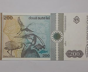 Banknotes Romaniea