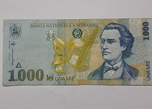 Banknotes Romaniei