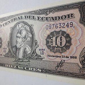 Ecuador Banknotees