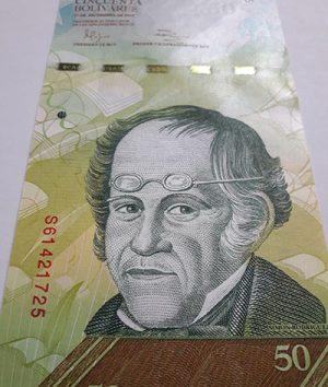 Venezuela banknotes