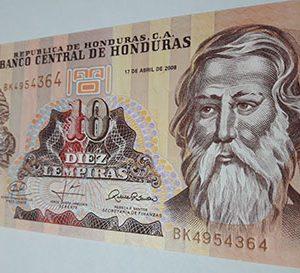 banknotes Honduras