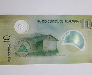 Nicaragua Polymer External Currency nhh