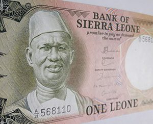 Sierra Leone's foreign currency is beautiful and colorful bnj7