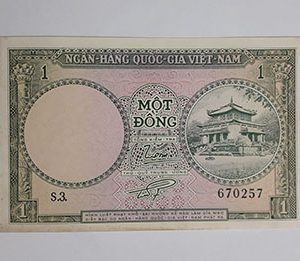 Old Vietnamese Foreign Banknotes Beautiful and Rare Design bha