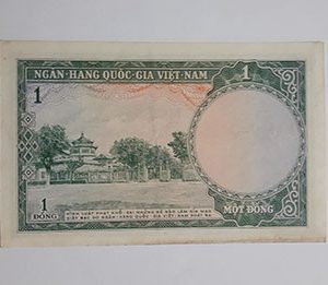 Old Vietnamese Foreign Banknotes Beautiful and Rare Design gg