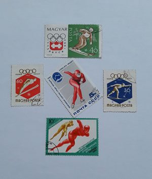 Beautiful foreign stamp
