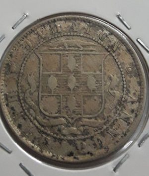 Extremely rare foreign coin Jamaican British colony Queen Victoria 1888