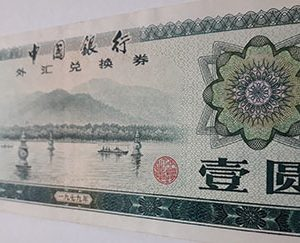 Very rare foreign banknotes in China-wer