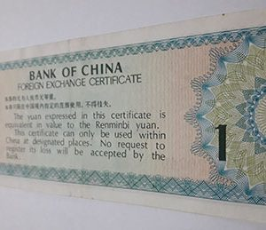 Very rare foreign banknotes in China-ewr