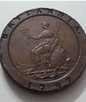 British foreign currency King George III of 1797 large size-xzw