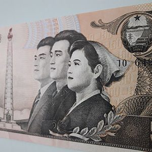North Korea foreign banknotes very beautiful design-zho