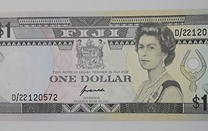 Extraordinarily beautiful, rare and valuable foreign banknotes of the British Queen, the British Queen Fiji-pua