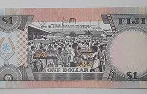 Extraordinarily beautiful, rare and valuable foreign banknotes of the British Queen, the British Queen Fiji-rrrm