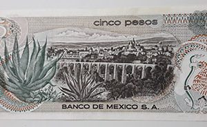 Foreign currency of Mexico 1972 Banking quality-jzk