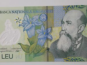Romanian polymer foreign banknotes-mzi