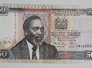 Extremely beautiful foreign banknotes of Kenya-wce
