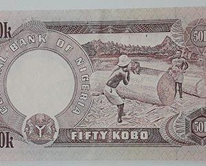 Nigerian foreign currency unit 50-ofi