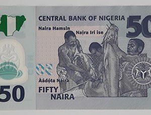 Nigeria beautiful polymer banknotes-zgq