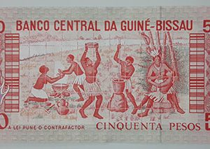 Guinea foreign banknotes Banking quality 1990-cge