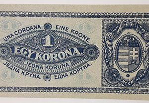 Extremely rare and valuable foreign banknote in Hungary 1920 Banking quality (100 years old)-qas