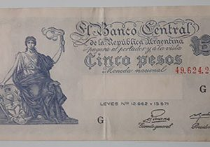 Extremely rare and valuable foreign banknotes of ancient Argentina-qqz