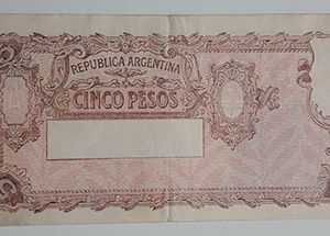Extremely rare and valuable foreign banknotes of ancient Argentina-qqa