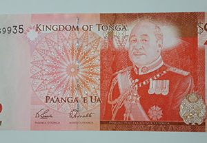 Tonga well-designed and colorful foreign banknotes (banking quality)-ggs