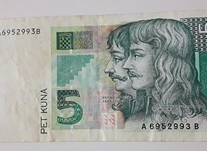 Croatian foreign currency in 1993-dds