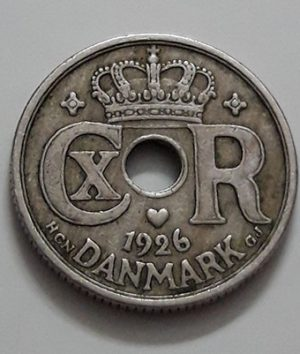 Extremely rare and valuable foreign coin of Denmark in 1926-ggz