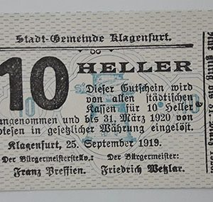 Foreign gold banknote of Germany in 1919 (one-sided printing)-tvv