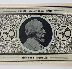 Foreign net banknotes of Germany, beautiful and rare type-thh