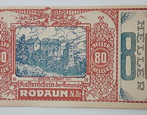 Foreign banknote of the beautiful design of Net Gold in Germany (100 years old)-tjj