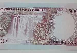 Very rare and valuable foreign currency of the country of Sao Tome-shs