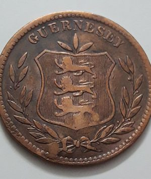 Extremely rare and valuable foreign coin of Guernsey in 1903, large size-ggp