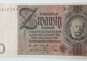 Foreign banknote of Germany, rare type, 1924-rii