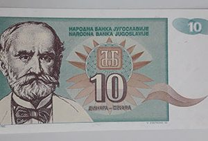 Foreign currency of Yugoslavia-tuu