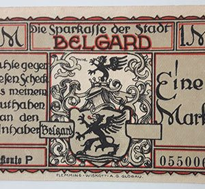 Foreign banknote of the beautiful design of Net Gold in Germany-iui