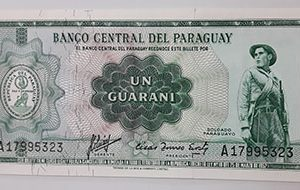 Very rare foreign banknotes in Paraguay-ixx