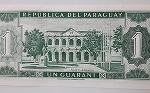 Very rare foreign banknotes in Paraguay-xix
