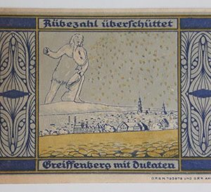 Foreign banknote of the beautiful design of NetGold, Germany-ynn